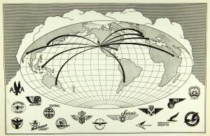 Photo credit: Convair/General Dynamics Convair Liner Airline Map